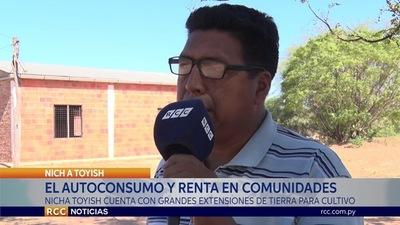 NICHA TOYISH ES UNA COMUNIDAD QUE CUENTA CON ENORMES HECTÁREAS DE TIERRA EN EL CHACO