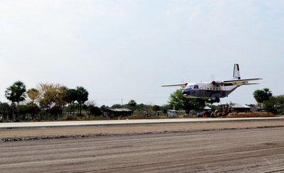 Vuelos del Transporte Aéreo Militar se reactivan desde mañana en el Chaco