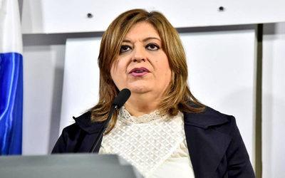 Fracasó intento de juicio político a Sandra Quiñónez