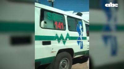 Cruzan frontera sin autorización en ambulancia asignada a hospital de Capitán Bado