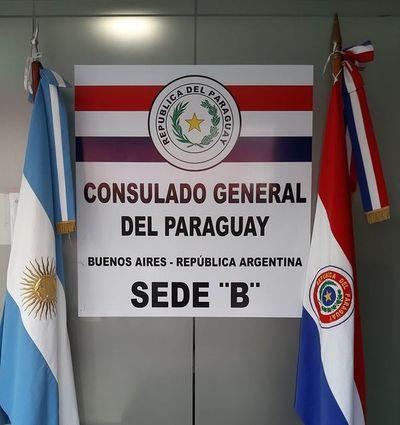 Cierran consulado de Paraguay en Buenos Aires por caso coronavirus