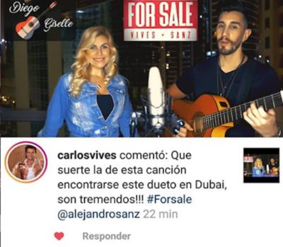 Ligaron piropo de Carlos Vives