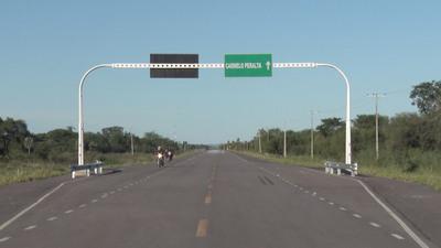Carmelo Peralta: Destacan obras en el distrito