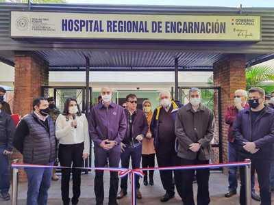 En tiempo de pandemia, Gobierno invierte en hospitales de Itapúa