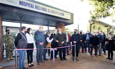 Marito inauguró mejoras en Hospitales de Itapúa