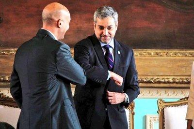 """Abdo a Mazzoleni: """"Te atacan porque creen que vas a ser candidato a presidente para el 2023"""""""