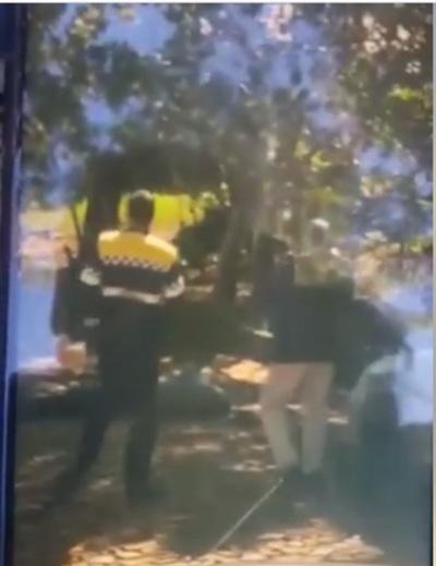 Investigan incidente que involucra a agente de tránsito en CDE