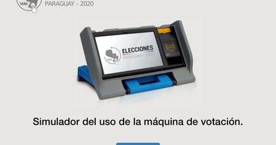 TSJE lanza simulador para aprender a votar en la máquina de votación