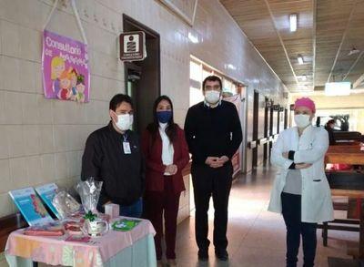 Habilitan consultorio amigable para adolescentes en el Hospital Regional