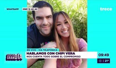 Yolanda Park y Chipi Vera están comprometidos