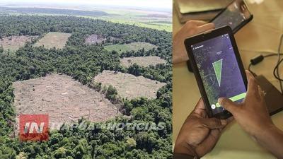 APLICAN TECNOLOGÍA DE PUNTA PARA RASTREAR POSIBLES DEFORESTACIONES