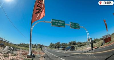 MOPC habilitó tramos pavimentados y mejora conectividad a más de 34.000 itapuenses