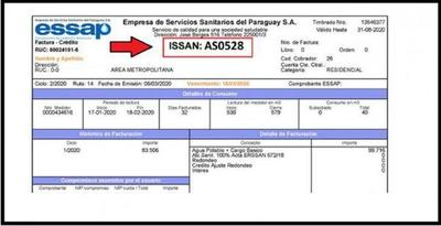 Essap; Habilitan nueva modalidad de pagos sin factura – Prensa 5