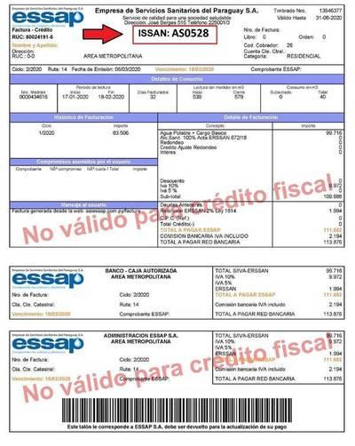 Essap: Nueva forma de pago sin factura