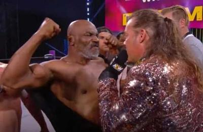 Así fue la irrupción de Mike Tyson en la WWE