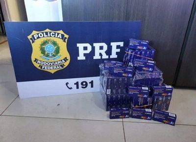 Brasil: Detienen a 4 personas que ingresaron hidroxicloroquina paraguaya de contrabando