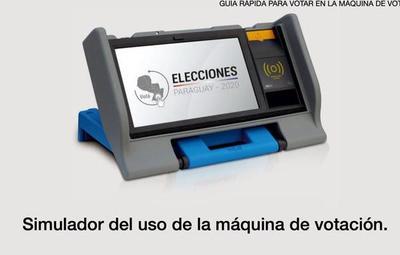 Justicia Electoral implementa un simulador para practicar el voto electrónico