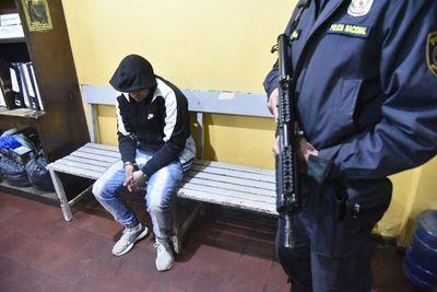 Autor confeso de asalto en surtidor asegura que lo hizo por necesidad