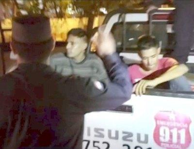 """""""Mellis"""" akãhatã chupaban en taxi ajeno y chauche"""