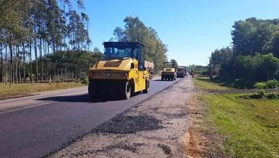 MOPC mejora ruta Paraguarí – Villarrica • Luque Noticias
