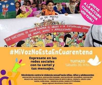 #MiVozNoEstáEnCuarentena, una acción ciudadana virtual de ayuda