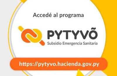 Pytyvõ llega este lunes a beneficiados