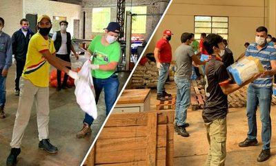 Comité de Emergencia distrital de Minga Guazú asistió a unas 60 mil familias