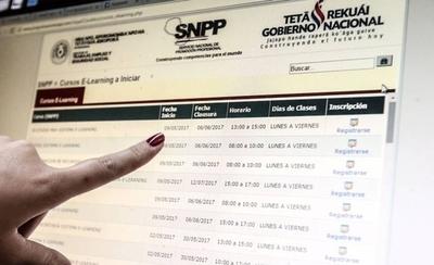 HOY / El SNPP Habilitan cursos gratuitos vía online