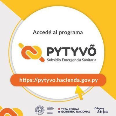 Programa Pytyvõ: Segundo pago se realizará a partir de este lunes