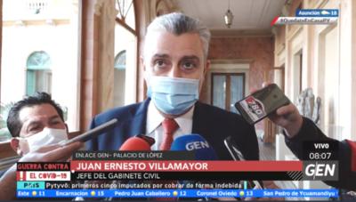 HOY / Juan Ernesto Villamayor, jefe de Gabinete de la Presidencia, sobre compras de salud