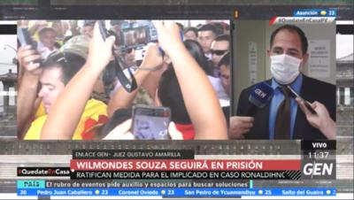 HOY / Ratifican la prisión del empresario Wilmondes Sousa Lira, en el marco del caso Ronaldinho
