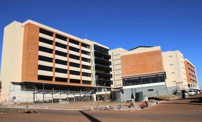 Obra de futura sede del Palacio de Justicia de CDE, con avance del 96%
