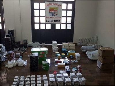Alto Paraná: Incautan equipos eléctricos de contrabando