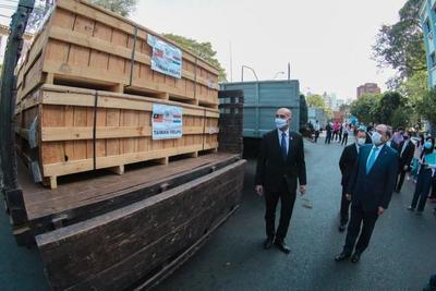 Importante donación de Taiwán a Salud Pública para la lucha contra el Covid-19