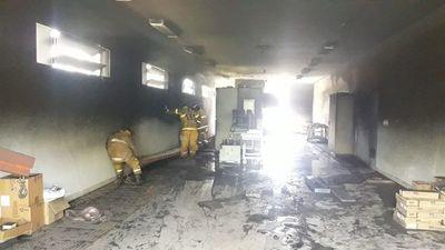 Incendio en subestación de ANDE deja sin energía a 27.000 usuarios de San Pedro