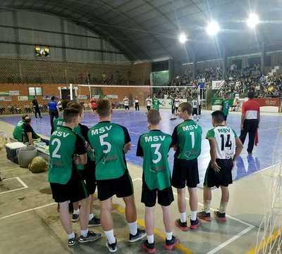 MENEFEPA DE VÓLEY: La organización decidió suspender de manera definitiva el campeonato de Primera