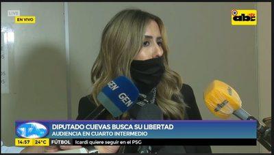 Fiscalía se opone a que diputado Cuevas salga de prisión