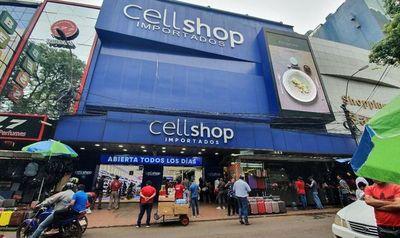 """Cell Shop de CDE se queda: """"Jamás voy a dejar Paraguay, eso no tiene sentido"""""""