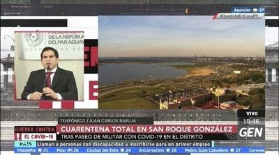 HOY / Cuarentena total en San Roque González y Carapeguá, tras el paseo de un militar con Covid-19 en dichos distritos