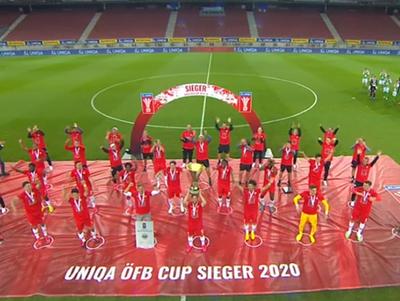 El Salzburgo se corona campeón de la Copa de Austria