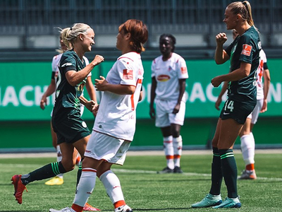 Wolfsburgo y Frankfurt triunfan en el reinicio de la Bundesliga femenina