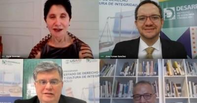 """Presentaron programa """"Estados de Derecho y Cultura de la Integridad"""" en Paraguay"""