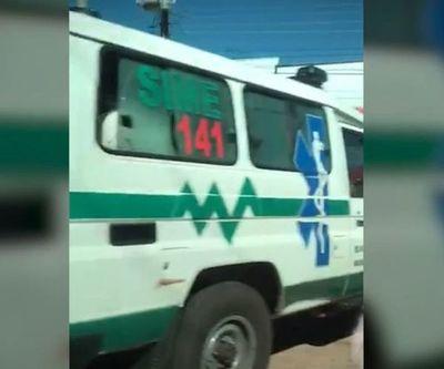Sancionan a conductor de una ambulancia del SEME