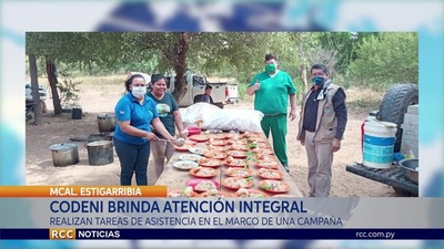 BRINDAN ATENCIÓN INTEGRAL EN COMUNIDADES INDÍGENAS EN EL DISTRITO DE MARISCAL ESTIGARRIBIA.