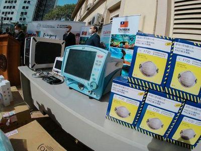 Taiwán realiza más donación de equipamientos e insumos médicos al país