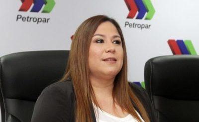 Imputan a la expresidenta de Petropar, Patricia Samudio