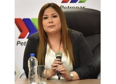 Fiscalía imputá a Patricia Samudio ex titular de Petropar por sobrefacturación de agua tónica