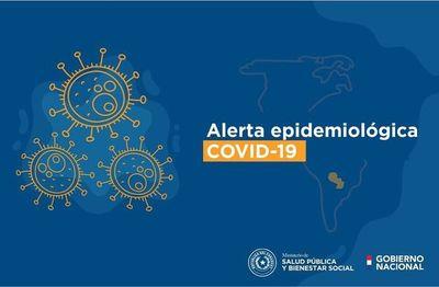 COVID-19: MINISTERIO DE SALUD EMITE ALERTA EPIDEMIOLÓGICA