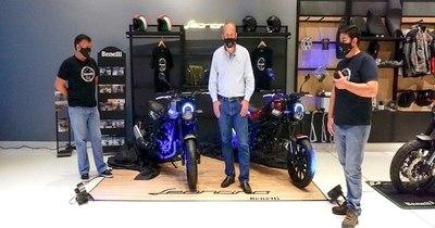 Benelli lanza nuevo modelo al mercado paraguayo