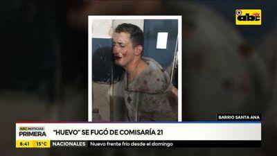 """Durante rastrillaje, recapturaron al peligroso """"Huevo"""", en barrio Santa Ana"""